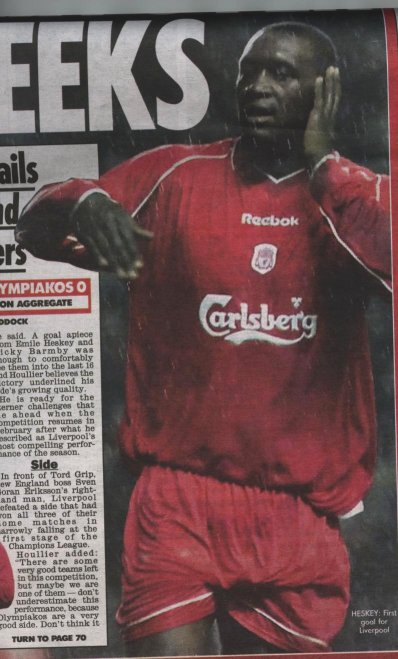 Emile in a newspaper article