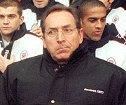 Houllier making a face