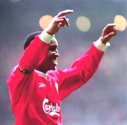 Another picture of Ince scoring a goal against Man Utd
