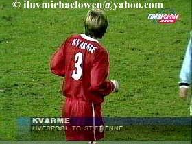 Eurosport news: Kvarme moving to St. Etienne (30.08.99)