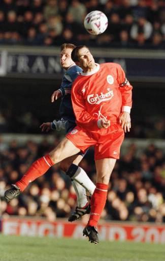 Redknapp heading the ball