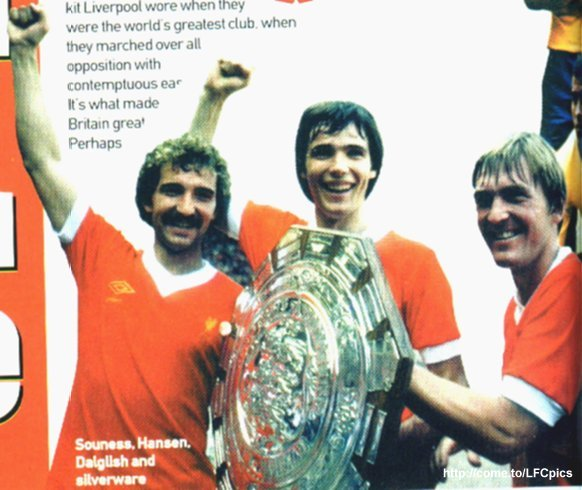 Graeme Souness, Alan Hansen & Kenny Dalglish